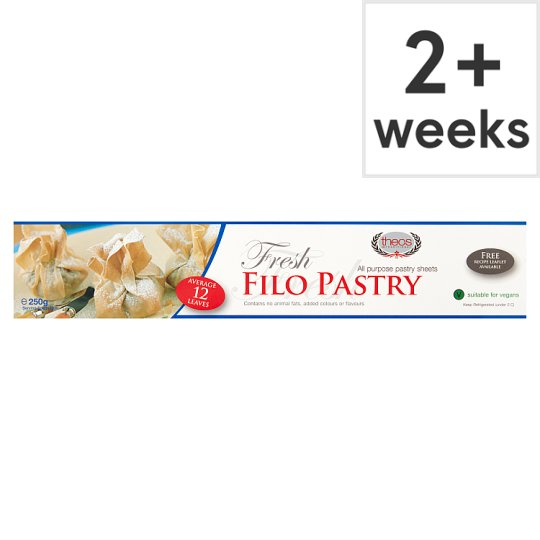 Theos Filo Pastry Ready Rolled 250G