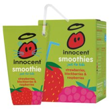 Innocent Kids Strawberries Raspberries 4 Pack