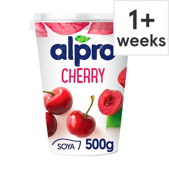 Alpro Big Pot Cherry Yogurt Alternative 500G