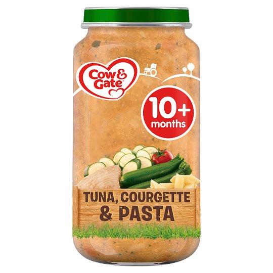 Cow & Gate 10Mth+ Courgette And Tuna Pasta 250G