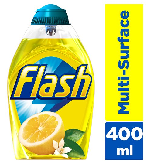Flash Liquid Gel Lemon 400Ml All Purpose Cleaner