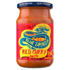 Blue Dragon Thai Red Curry Paste 285G
