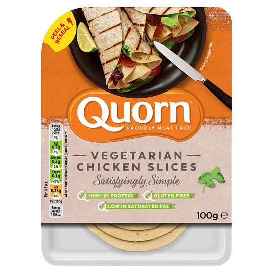 Quorn Vegetarian Chicken Slices 100G