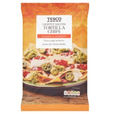 Tesco Lightly Salted Tortilla Chips 175G