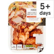 Tesco Bbq Cooked Chicken Breast Chunks 180G