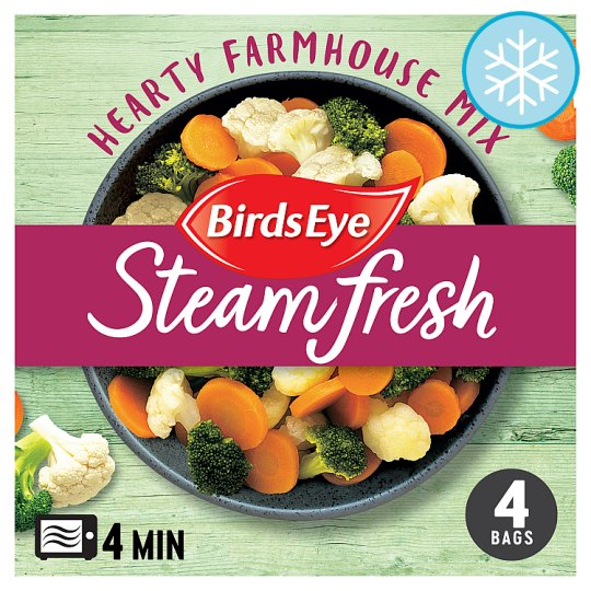 Birds Eye 4 Hearty Farmhouse Vegetable Mix 540G