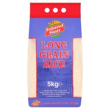 Island Sun Long Grain Rice 5Kg