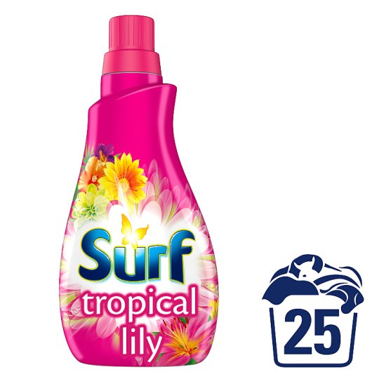 image 1 of Surf Tropical Lily Washing Liquid 25 Washes 875Ml