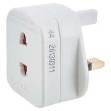 Tesco Shaver Adaptor Plug (Fused)
