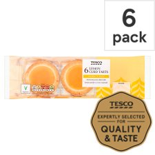Tesco Lemon Curd Tarts 6 Pack