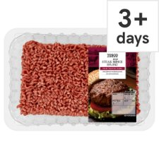 Tesco Beef Steak Mince 750G 15% Fat