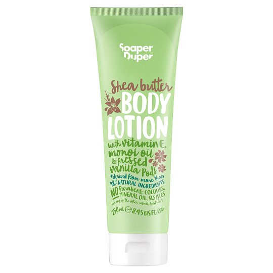 Soaper Duper Vanilla Shea Body Lotion 250Ml