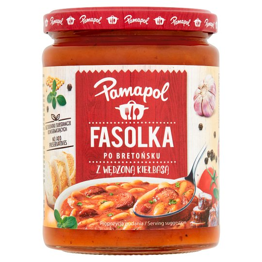 Pamapol Beans With Sausages In Tomato Sauce 500G