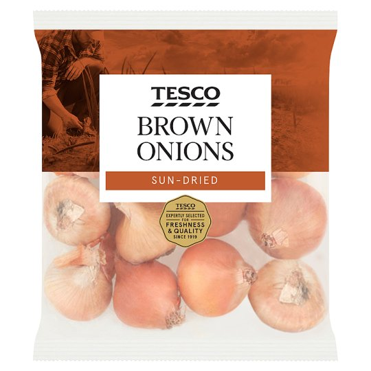 image 1 of Tesco Brown Onions 1Kg