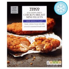 Tesco Southern Fried Chicken Breast Mini Fillets 300G