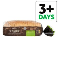 Tesco Finest Sunflower And Pumpkin Cob Bread 600G
