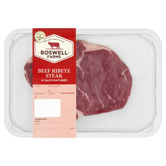 Boswell Farms Beef Ribeye Steak 195G