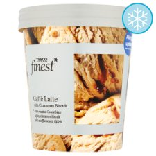 Tesco Finest Caffe Latte Ice Cream 500Ml