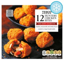 Tesco Hunters 12 Chicken Bites 240G