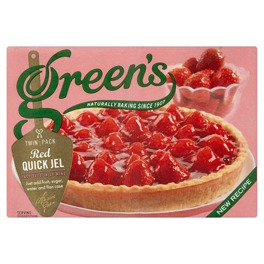 Greens Quick Jel Red 70G