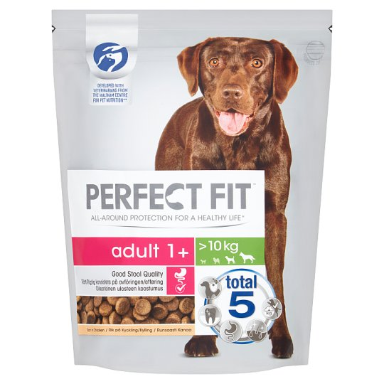 image 1 of Perfect Fit Chicken Adult Dogs Over 10Kg 825G