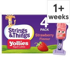 Yollies Strawberry Yogurt 4 X25g