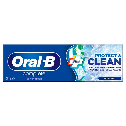Oral-B Complete Refreshing Clean Toothpaste 75Ml