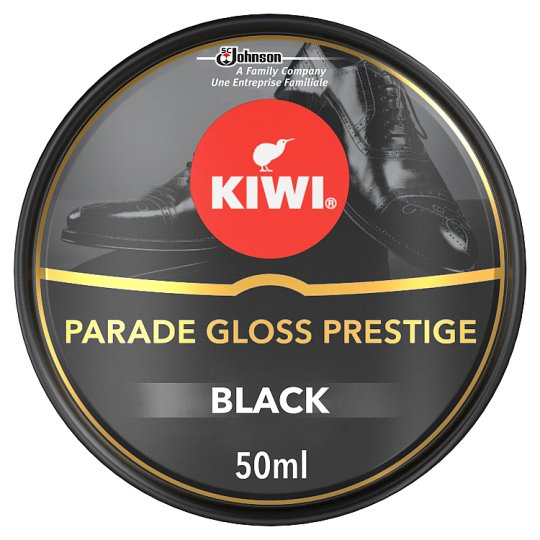 Kiwi Black Parade Gloss Shoe Polish 50Ml