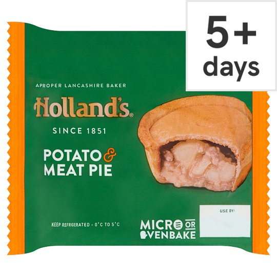 Hollands Potato And Meat Pie 184G