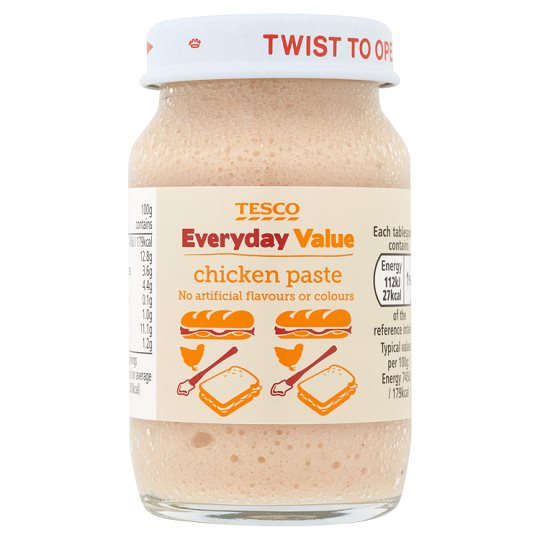 Tesco Everyday Value Chicken Paste 75G