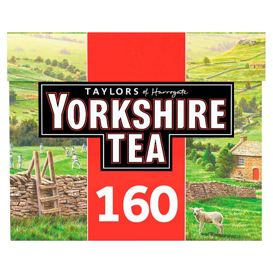 Yorkshire 160 Teabags 500G