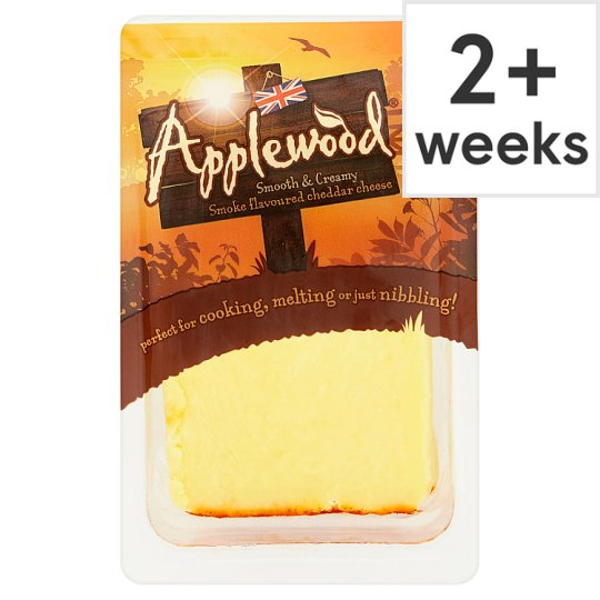 Ilchester Applewood Smoked Cheddar Cheese 185 G