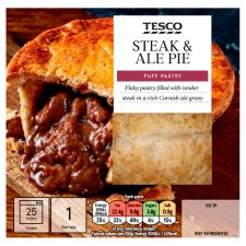 Tesco Steak And Ale Puff Pie 200G