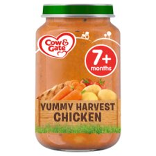 Cow & Gate Yummy Harvest Chicken Jar 200G 7 Mth+