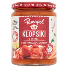 Pamapol Turkey Meatballs In Tomato Sauce 500G