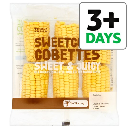 Tesco Super Sweet Sweetcorn Family Pack