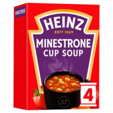 Heinz Minestrone Cup Soup Croutons 4 Pack 72G