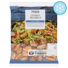 Tesco Cooked Mussels 400G