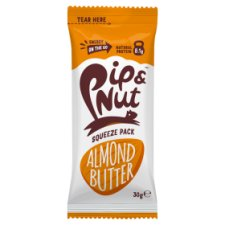 Pip And Nut Squeeze Pack Almond Butter 30G
