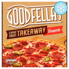 Goodfellas Takeaway Diavolo Pizza 568G