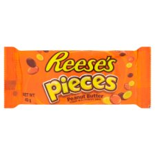Reeses Pieces Peanut Butter Candy 43G