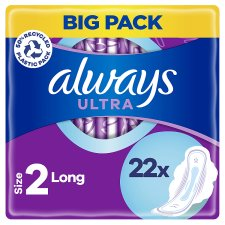 image 1 of Always Ultra Long Size 2 Sanitary Towels With Wings 22