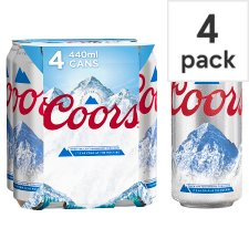 Coors Light 4X440ml