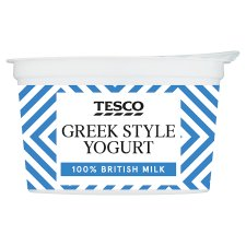 Tesco Greek Style Yogurt 200G