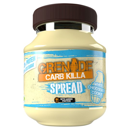 Carb Killa White Chocolate Cookie Spread 360G
