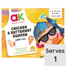 Annabel Karmel Chicken & Butternut Squash with Rice Ready Meal 200G