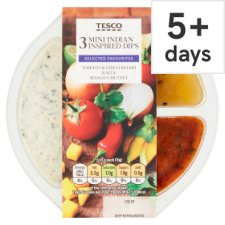 Tesco Indian Mini Multi Dip 210G