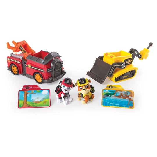 Paw Patrol 2 Pack Mission Vehicles
