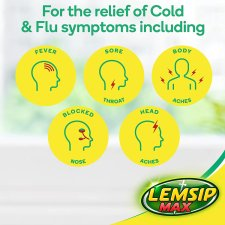 image 2 of Lemsip Max Cold And Flu Capsules X 16