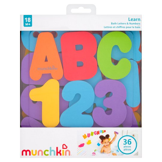Munchkin Learn Letters And Numbers